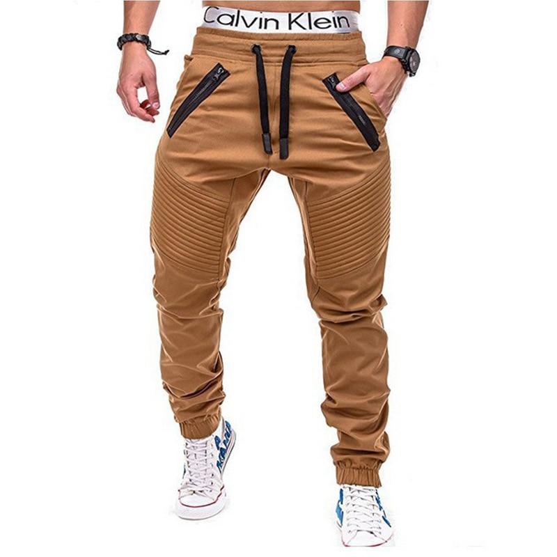 Men Pants 2021 Multi-pocket Harem Pants Hip Pop  Streetwear Casual Fashion Cargo Pants Jogger Men Cl