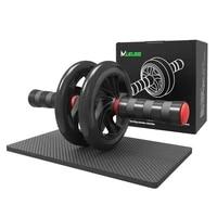 ab roller non slip tire pattern fitness gym exercise abdominal wheel roller
