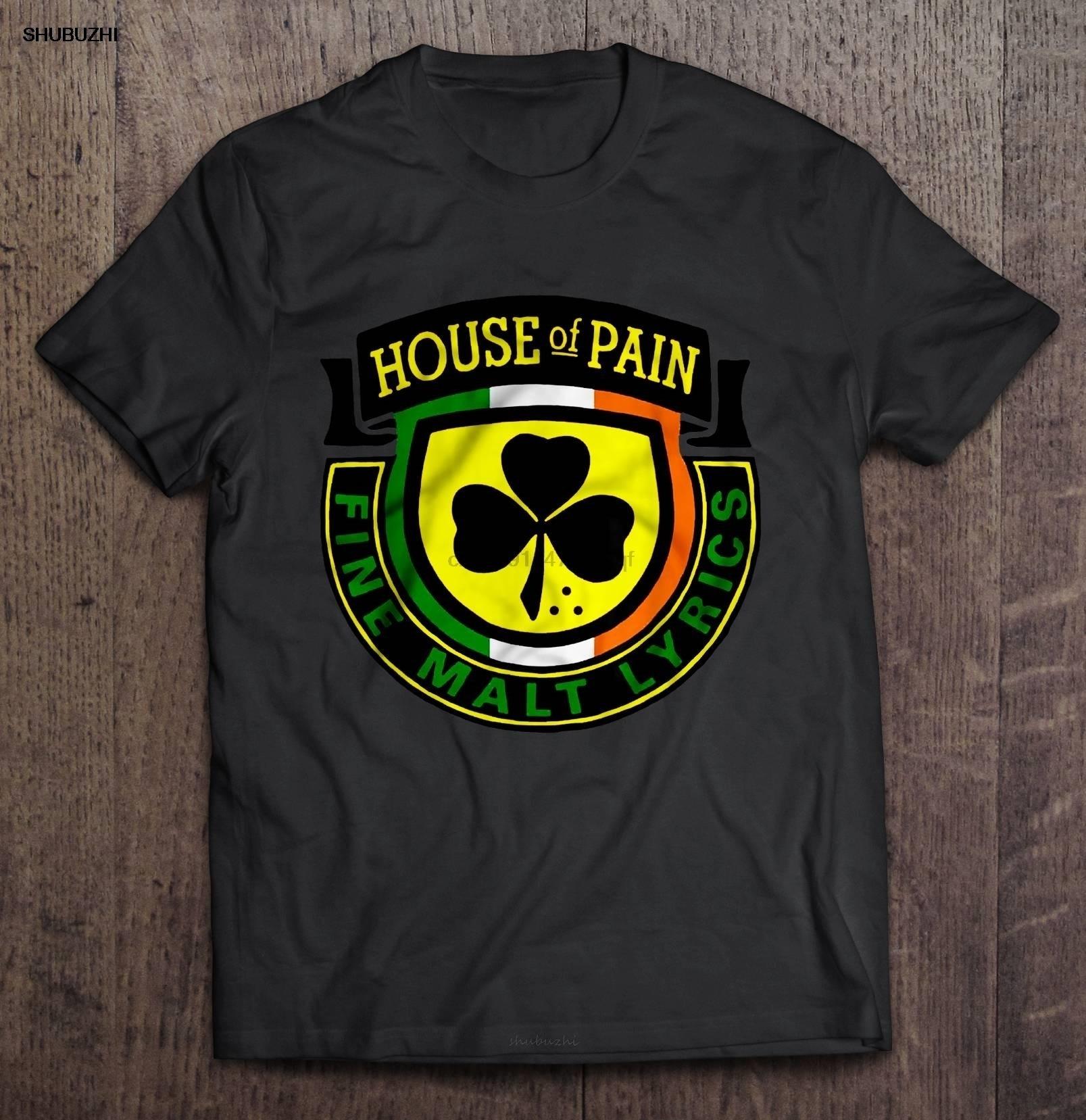 Camiseta divertida a la moda para hombre, camiseta con letras de Malta fina para casa del dolor, Camiseta de algodón para mujer, camiseta a la moda de verano para hombre, talla europea