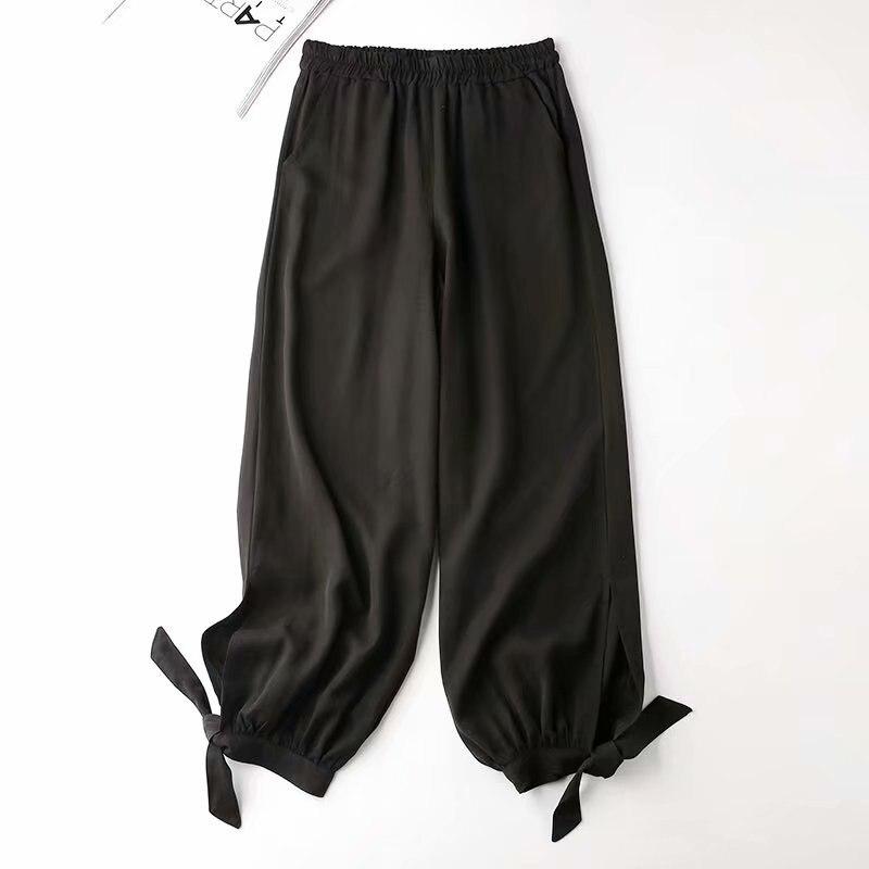Trousers Women High Waist Khaki Pants Summer Streetwear Bloomers Girls Loose Casual Cropped Pants Slacks Hip Hop Jogger Pants