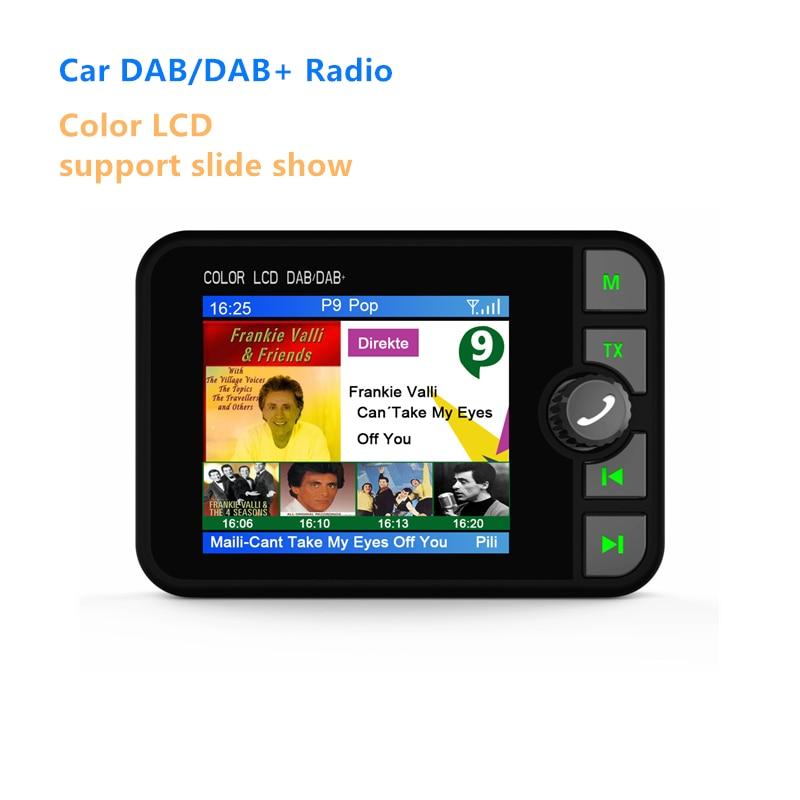 Receptor de Radio DAB con pantalla de colores para coche, receptor de...