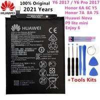 original 3020mah hb405979ecw battery for huawei nova caz al10 tl00 can l01 can l02 l12 enjoy 6s honor 6c y5 2017 p9 lite mini