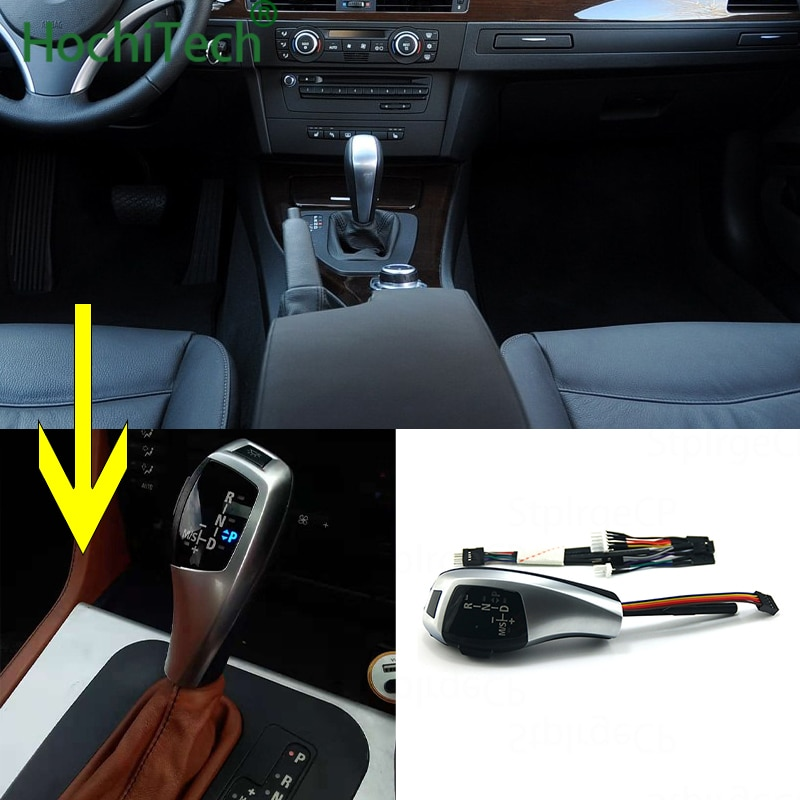 Последний в 2019 обновленный вид светодиодный рычаг переключения передач для BMW 3 серии 2007-2010 E93 pre-LCI Pre-facelift аксессуары