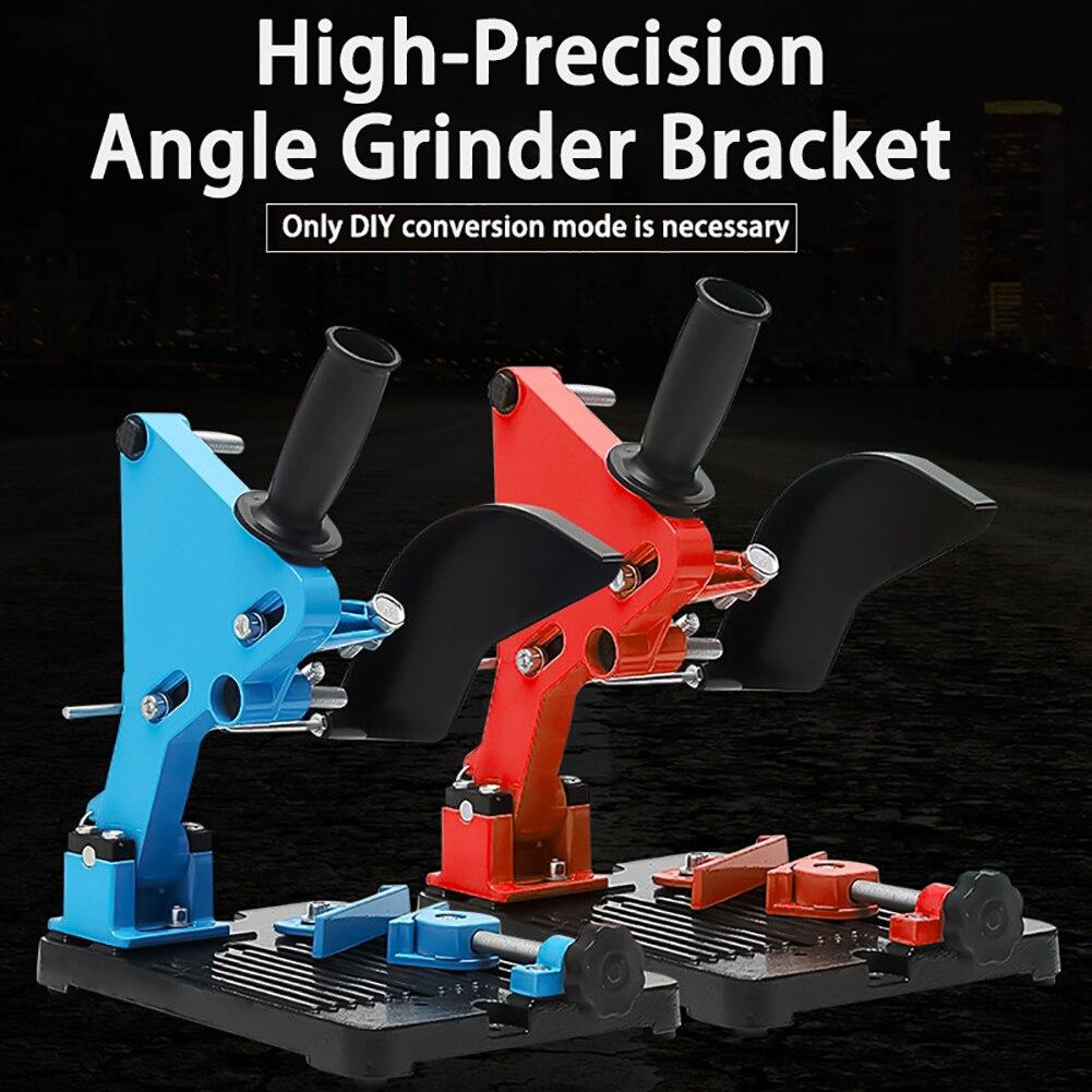 Moedor de ângulo suporte suporte metal máquina corte para 100/115/125mm ângulo moedor ferramentas elétricas acessórios novo d23