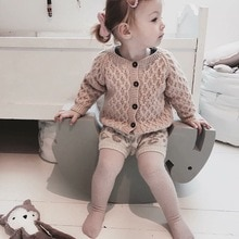 New children's cardigan in spring and Autumn