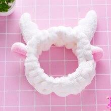 Korean Fashion Face Wash Headband Rabbit Cat Ears Instafamous Hairband Cute Head Accessories Sweet S