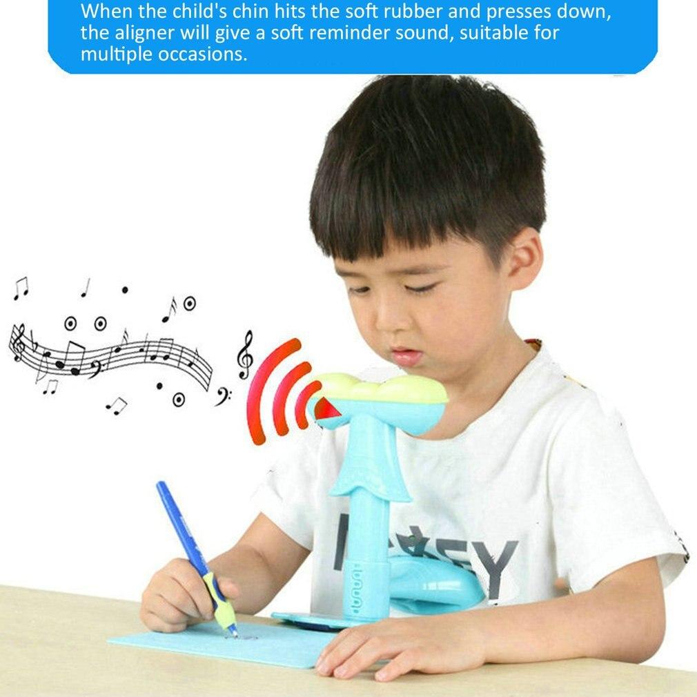 Corrector de postura sentado para prevenir miopía estudiantes aprendizaje papelería Protector de Visión para Niños