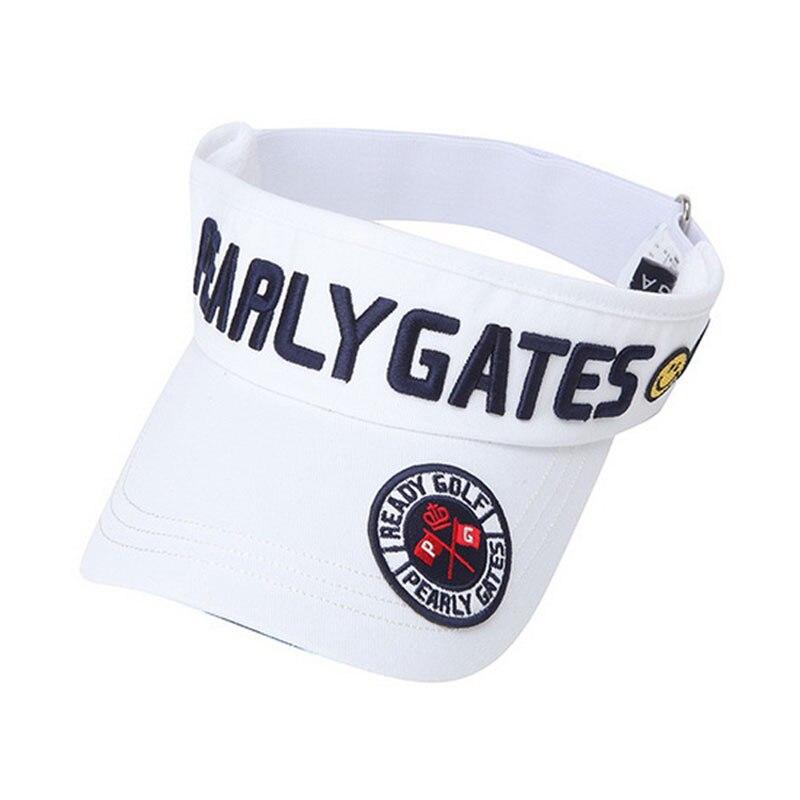 New PG alta qualidade Unisex chapéu de Golfe esporte Lazer chapéu de sol top Vazio Bordado Esportes cap Golf Frete grátis