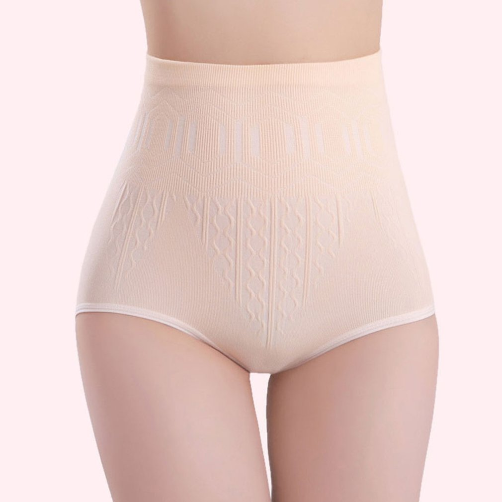 High Waist Triangle Elastic Underpants Abdomen Tigthen Breathable Physiological Underpants Postpartum Shaping Lifting Recovery