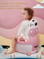 childrens pot soft baby potty plastic road pot infant potty training cute baby toilet safe kids potty trainer seat chair wc