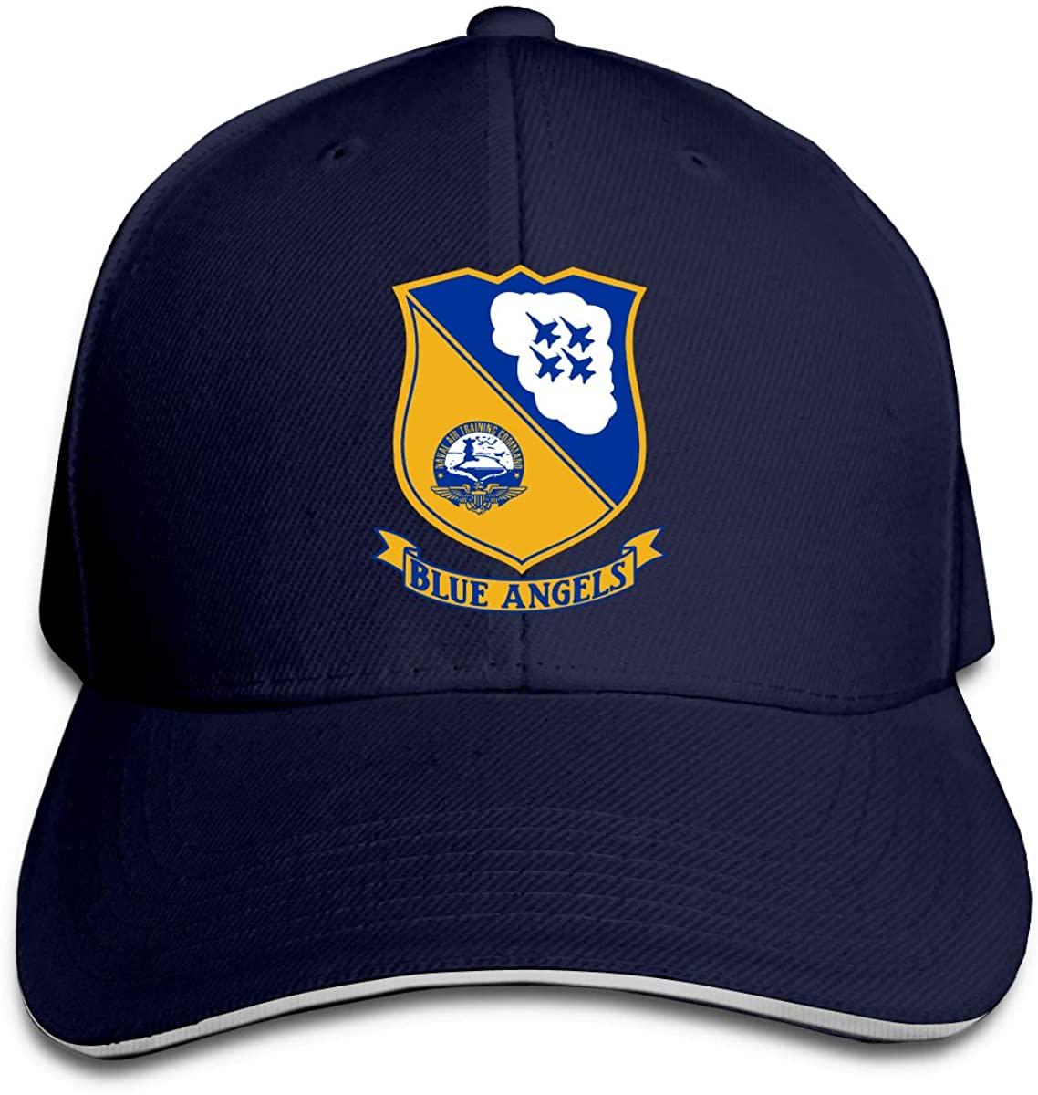¡Gorra de béisbol ajustable con el logotipo de Ángeles azul marino de...