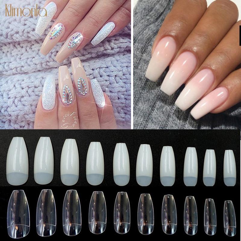 Накладные ногти, 500 шт., искусственные Длинные накладные ногти, накладные ногти, профессиональные маникюрные накладные ногти, пресс для полного покрытия ногтей