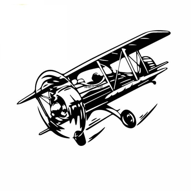 Автомобильные наклейки, Переводные картинки в виде летающих самолетов, высококачественные модные креативные Автомобильные украшения, инд...