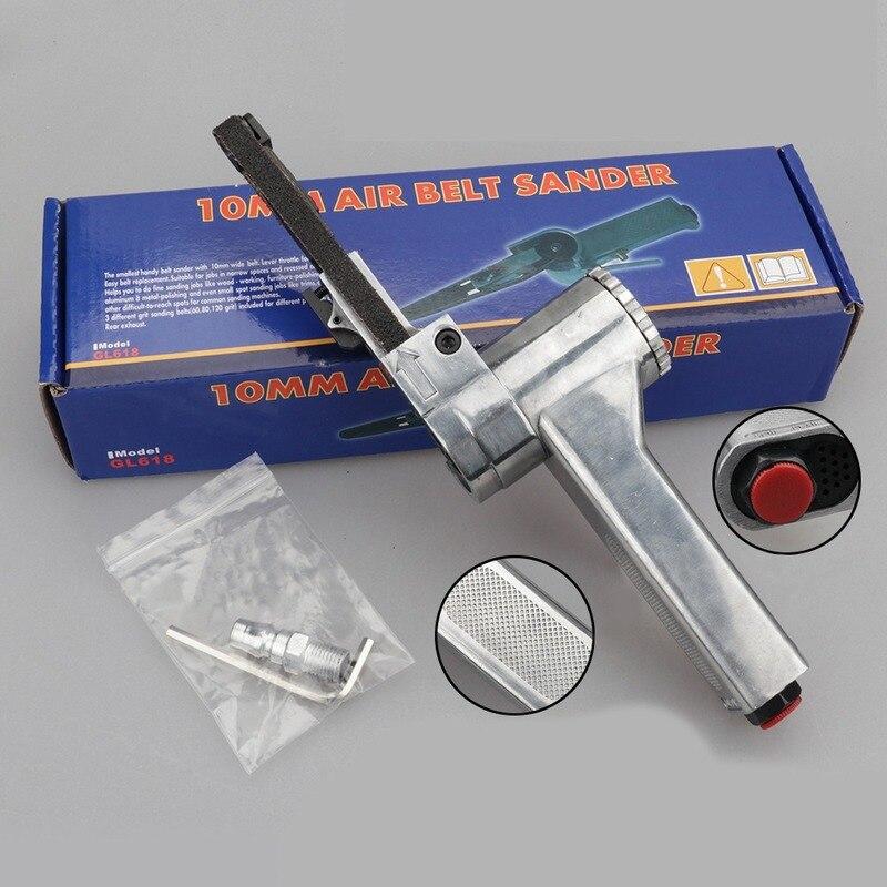 Máquina de cinta de lijado de aire, productos de fundición de aluminio anillado de grado Industrial 16000 Rpm, máquina de pulido y tallado de arena