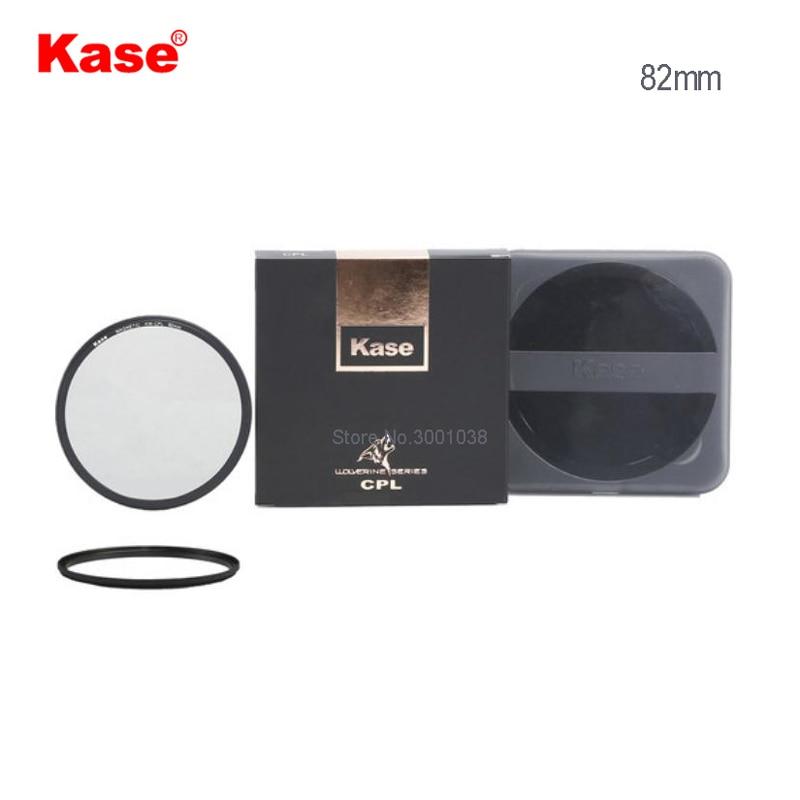 Kase Росомаха 82 мм магнитный круговой поляризатор фильтр с 82 мм передний фильтр ниток