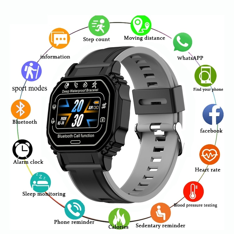 KESHUYOU B2 2021 Smart Watch Men Sport Fitness Watch Answer Call Heart Rate For Kids Hours Gift Andr