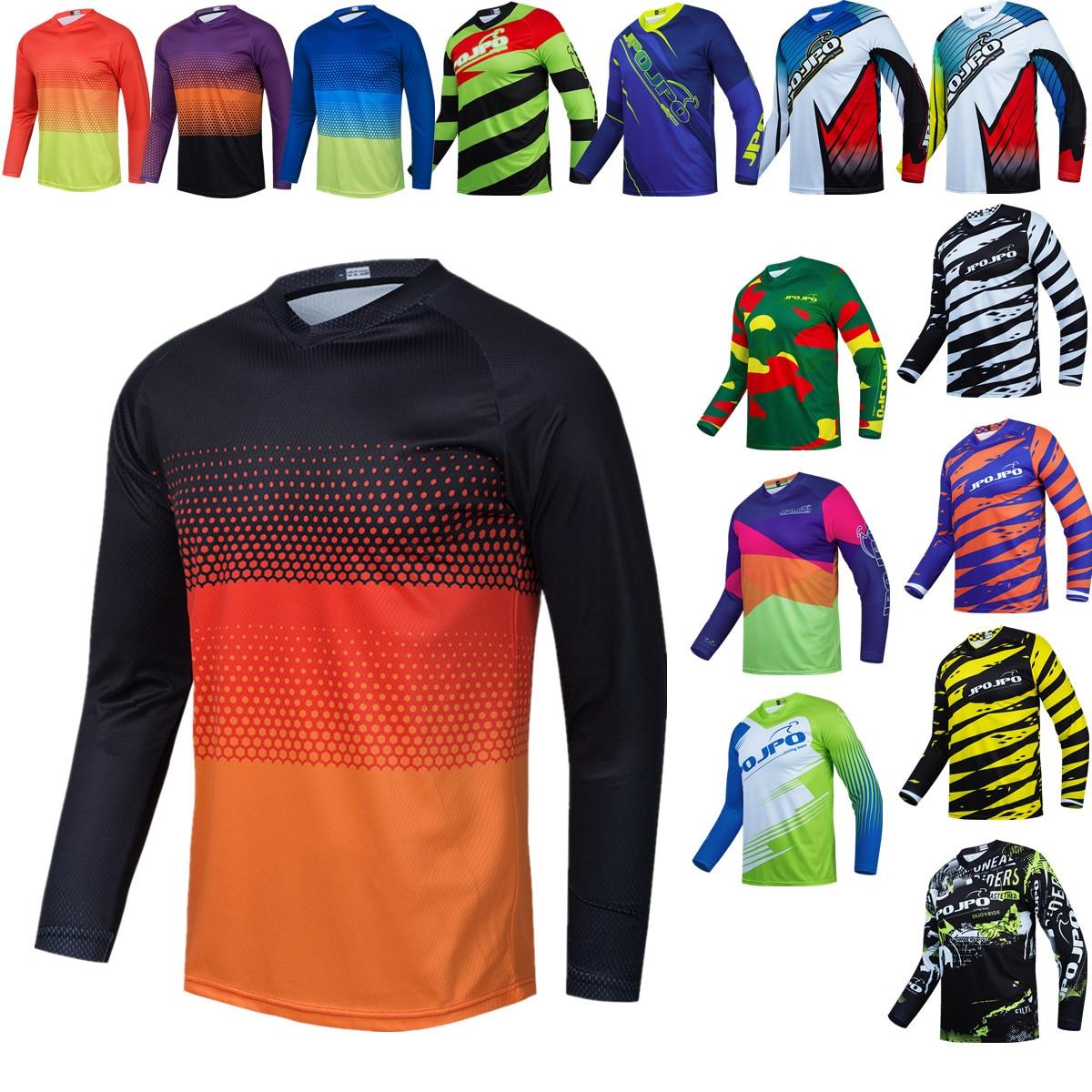 Camisa de Ciclismo dos Homens Roupas ao ar Equitação da Bicicleta Equipe Ciclismo Livre Mtb Mangas Compridas Downhill Jaquetas 2022 Jpo