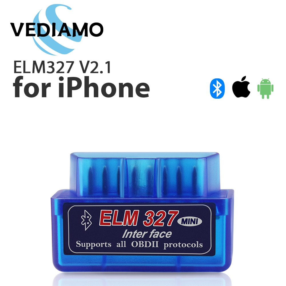 Bluetooth ELM327 V2.1Full OBD2 Scanner Auto Diagnostic Tool for iPhone and Android FasLink X Free Update