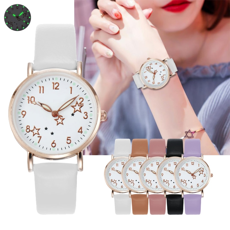 2021 New Watch Women Simple Classic Fashion Small Dial Women's watches Leather Strap Quartz Clock Wrist Watches Gift Reloj mujer women fashion quartz round wrist watches simple vintage small dial watch sweet leather strap outdoor sports wrist clock gift