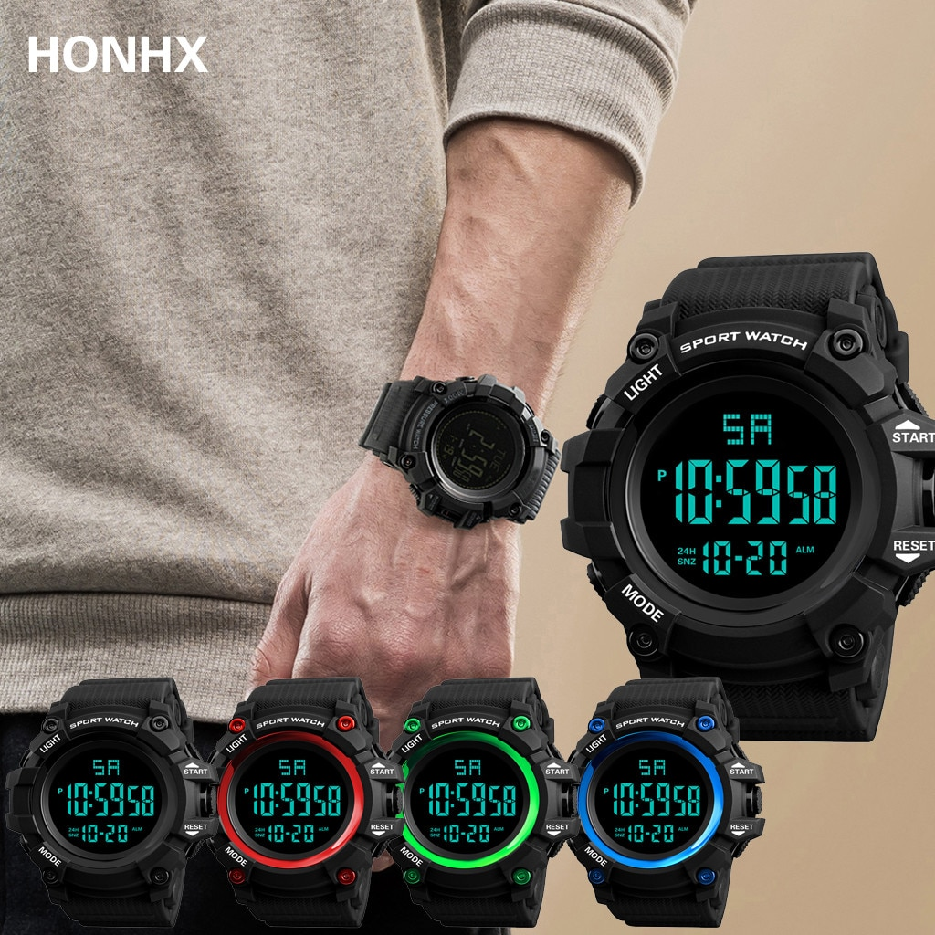 Reloj analógico Digital de lujo para hombre, reloj militar deportivo con LED...