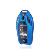 Zachte Tpu Auto Led Display Key Cover Key Case Voor Bmw 5 7 Serie G11 G12 G30 G31 G32 I8 i12 I15 G01 X3 G02 X4 G05 X5 G07 X7