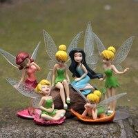 6 шт./компл., рождественский подарок для детей, куклы Динь-Динь Летающий цветочный сказочный, Детские Мультяшные игрушки, игрушки для девочек...