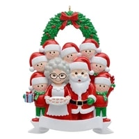 2021 christmas ornaments hanging decoration gift product personalized family christmas tree decoration santa claus xmas gifts
