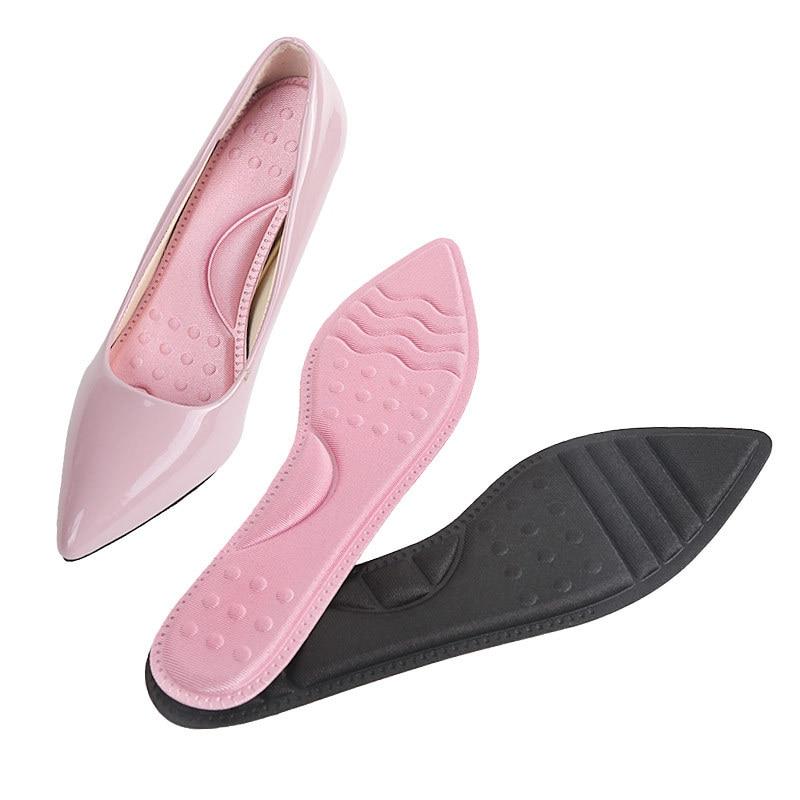 Plantillas de esponja suave de masaje espesante para mujer, para zapatos de tacón altos, almohadilla de inserción autoadhesiva, almohadillas Protector para el talón para el cuidado de los pies