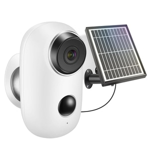 CloudEdga APP 1080P WiFi Solar camera Built-in 6000MAH Battery Powered IP65 Waterproof Wireless WiFi Outdoor Security IP Camera