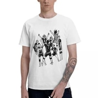 anime haikyuu karasuno team sticker aesthetic clothes mens basic short sleeve t shirt graphic funny tops