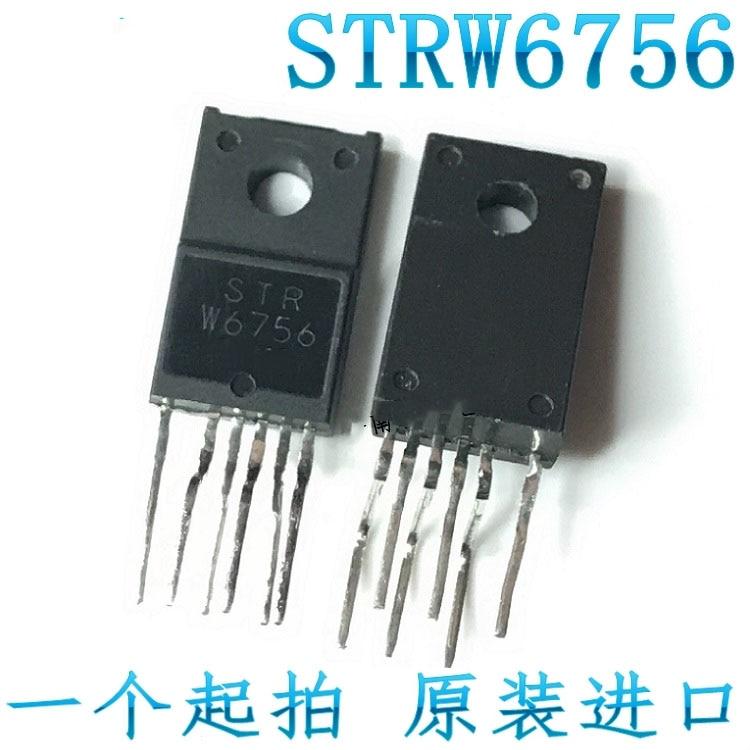 5pcs STR-W6756 TO220F-6 STRW6756 TO-220F-6 W6756 TO-220F switching supply module