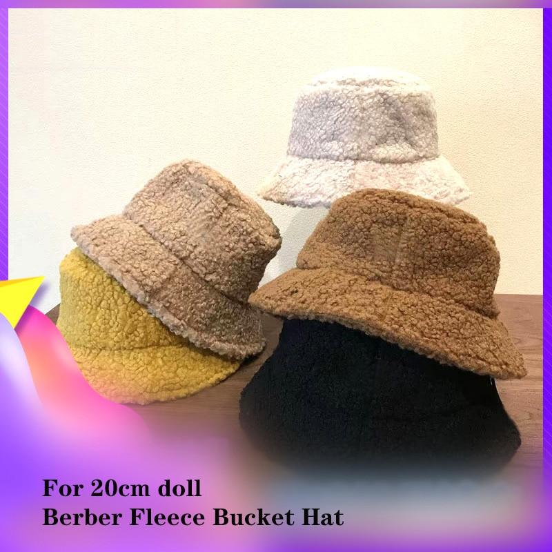 Envío Gratis, accesorios para muñecas de 20cm, Boonie, sombrero de cubo, Kpop, EXO, GOT7, MONSTA X, muñecos de felpa, gorras de pescador para muñecos de peluche de juguete