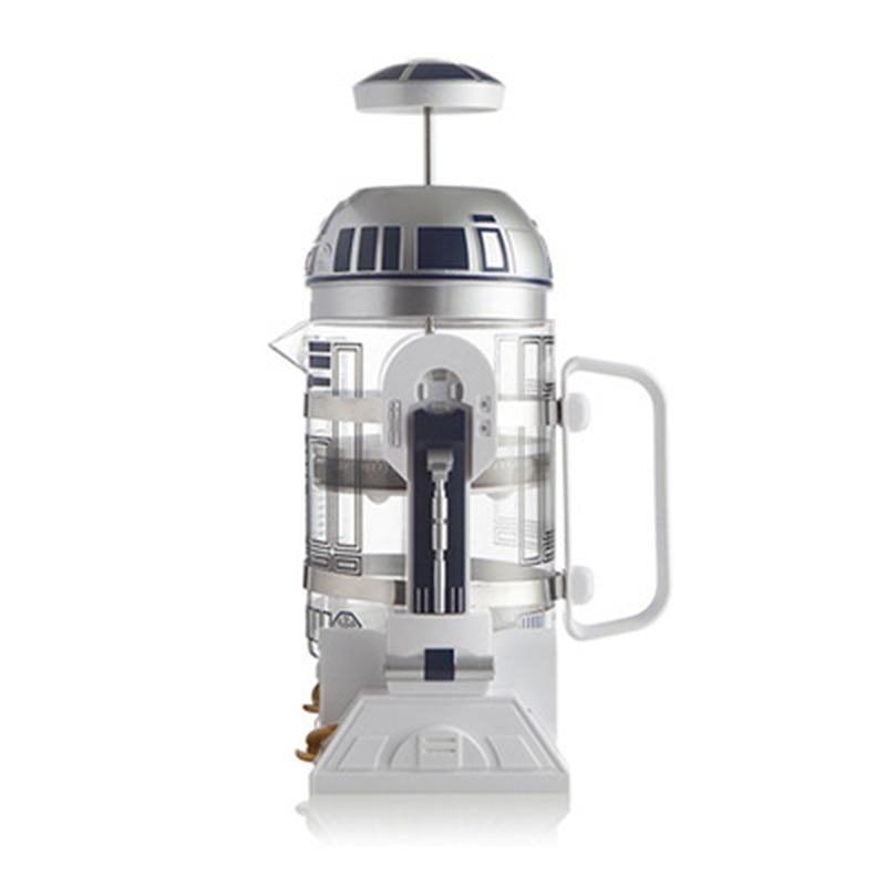 إبريق قهوة 960 مللي الرئيسية دليل صغير صانع القهوة الفرنسية ضغط إبريق قهوة المحمولة صانع القهوة القهوة التركية