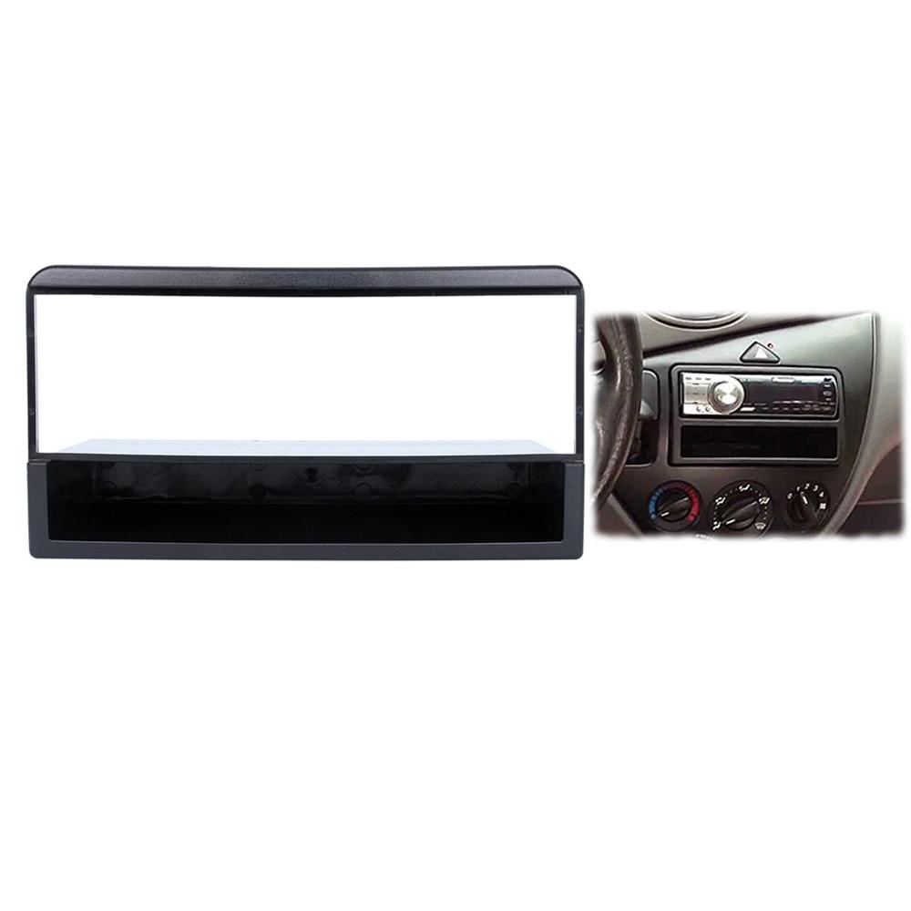 Kit de marco de Panel de cubierta de Radio de coche LONGSHI 182*53mm para 1998 1999 2000 2001 2002 2003-2006 Ford Fiesta Focus