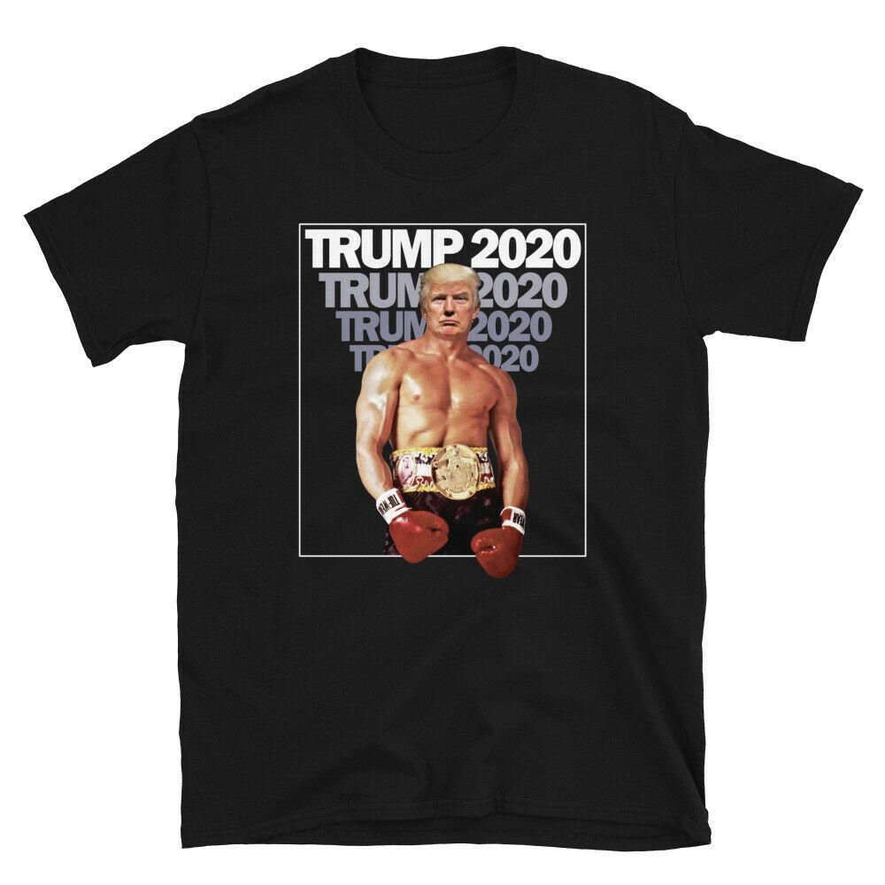 2019 novo t engraçado donald trump 2020 rock balboa-estilo camiseta hoodies