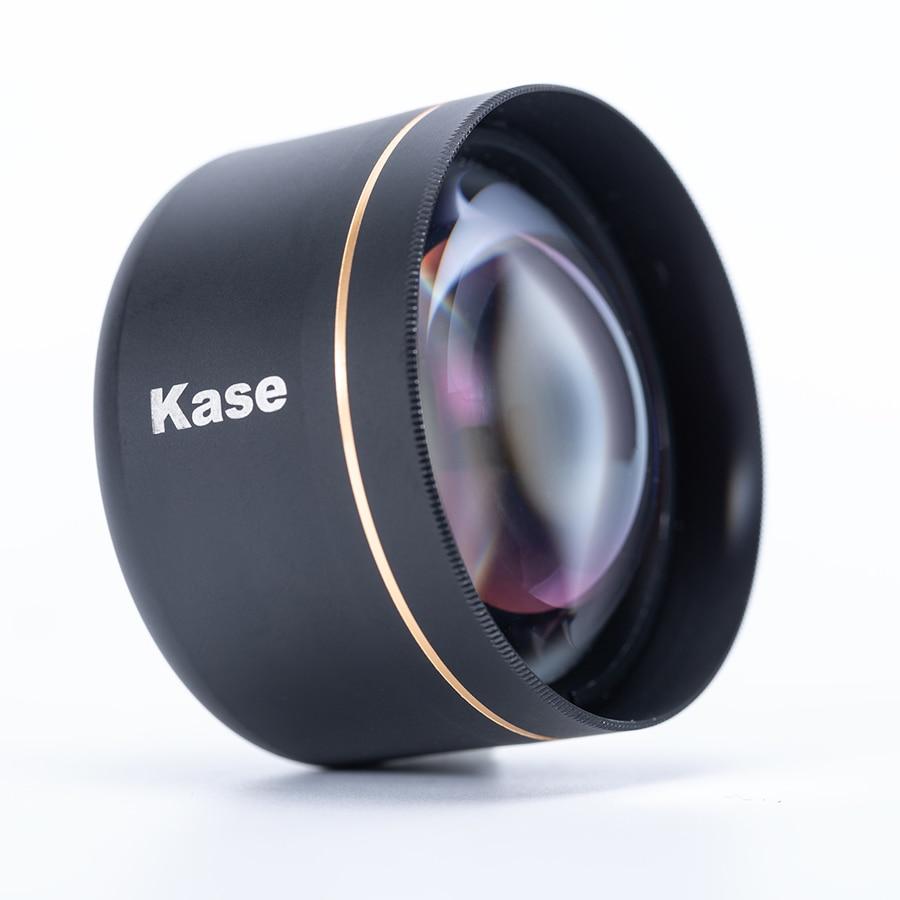 Kase 135mm smartphone master telefoto lente retrato