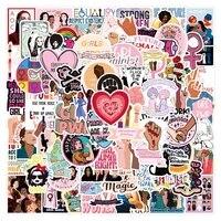 1050100pcs girl power feminist stickers laptop skateboard phone water bottle bike waterproof graffiti sticker decal kid toy