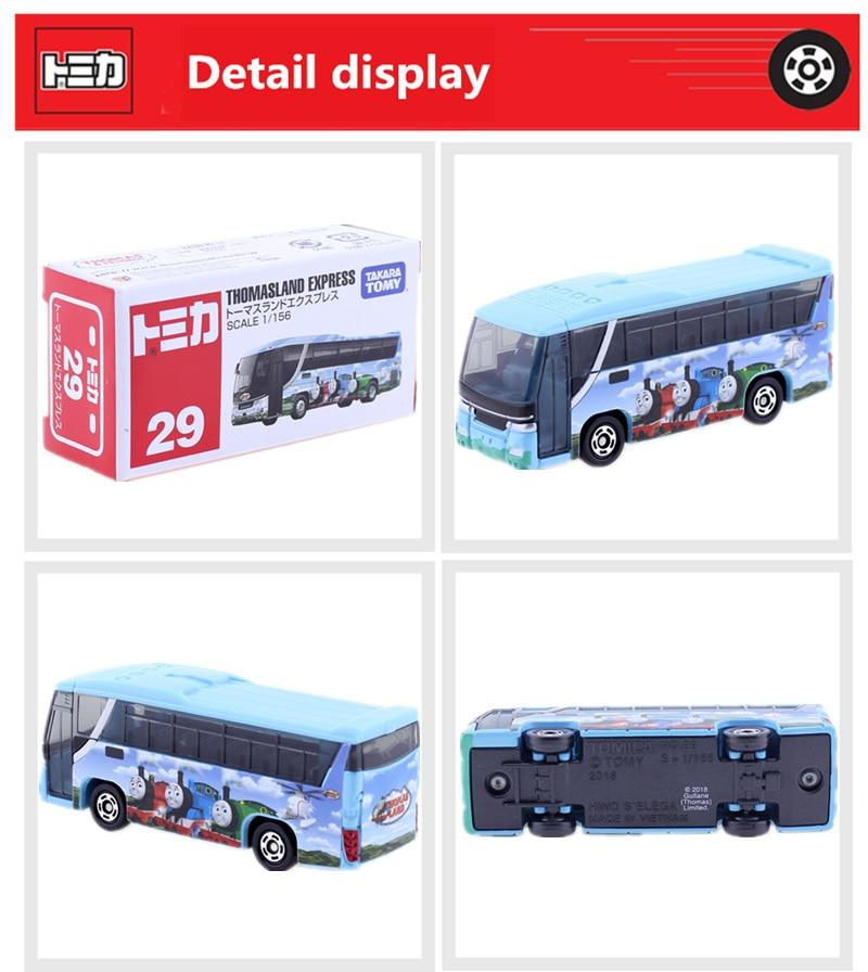 Tomica #29 THOMASLAND EXPRESS 1//56 scale Takara Tomy Sealed Diecast Toy Car
