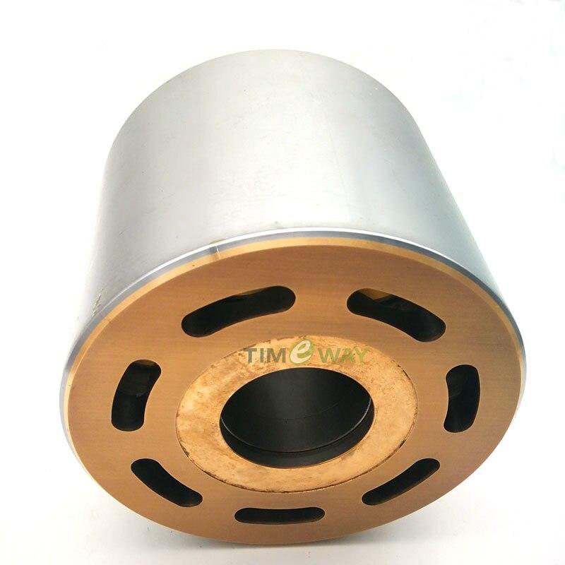 أجزاء المحرك الهيدروليكي BMV186 BMF186 BPR186 B2PV186 اسطوانة كتلة لإصلاح مضخة المكبس الهيدروليكي