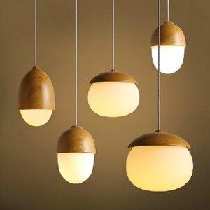Modern Pendant Lamp Nordic Hanging Lamp LED E27 Lamp Living Room Glass Pendant Light Dining Light Bedroom Bedside Lighting 220v