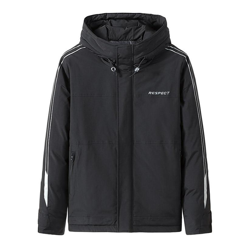 Мужское пальто, зимние парки, повседневное пальто с капюшоном, парки, мужские куртки, Трендовое зимнее пальто, парки для мужчин, верхняя одеж...