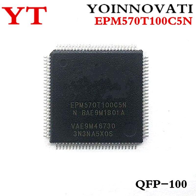 5pcs/lots EPM570T100C5N EPM570T100C5 EPM570T100 TQFP100 Best quality
