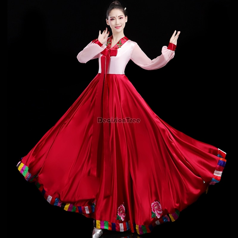 Festa de Casamento Hanbok Folk Feminino Tradicional Traje Coreano Vestido Elegante Princesa Palácio Coréia Desempenho Roupas 2022