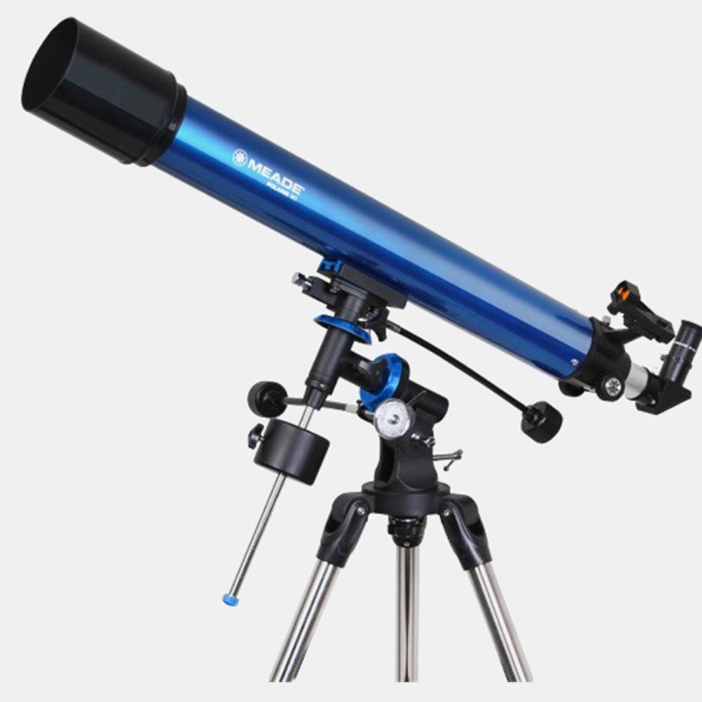 Meade Polaris 102EQ 114EQ 127EQ 130EQ telescopio astronómico de alta potencia HD para estudiantes telescopio de doble uso