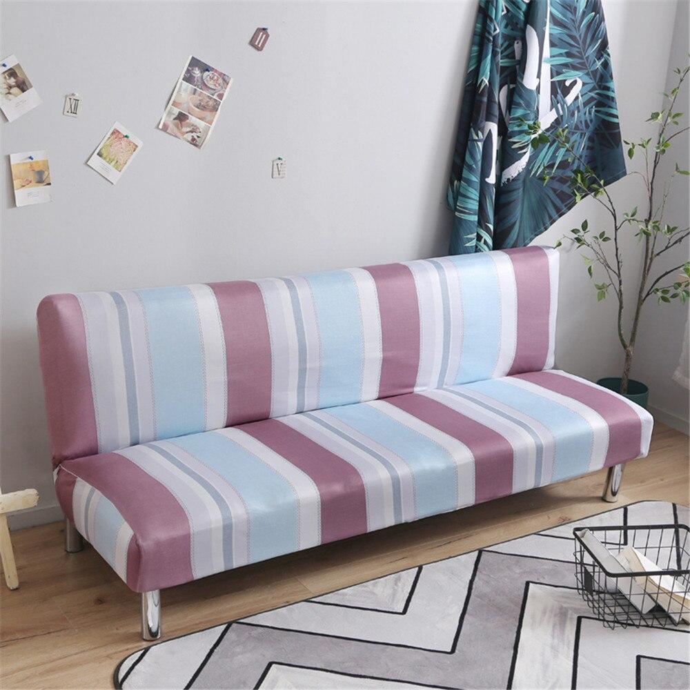 Fundas de sofá modernas para sala de estar, fundas de sofá impresas, funda de sofá elástica de Spandex, funda Universal sin brazos para sofá envolvente