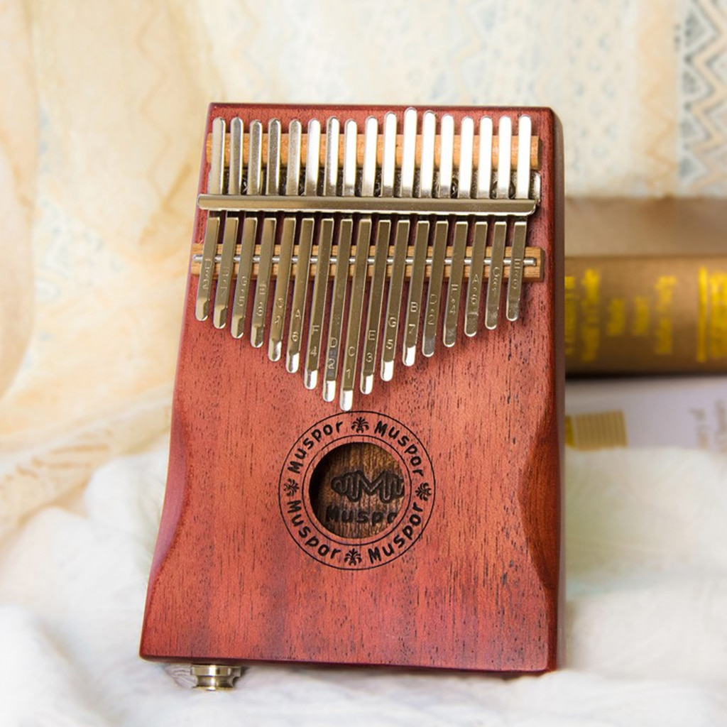 17 Keys Wooden Kalimba Thumb Piano Finger Percussion for Music Toy Gifts enlarge