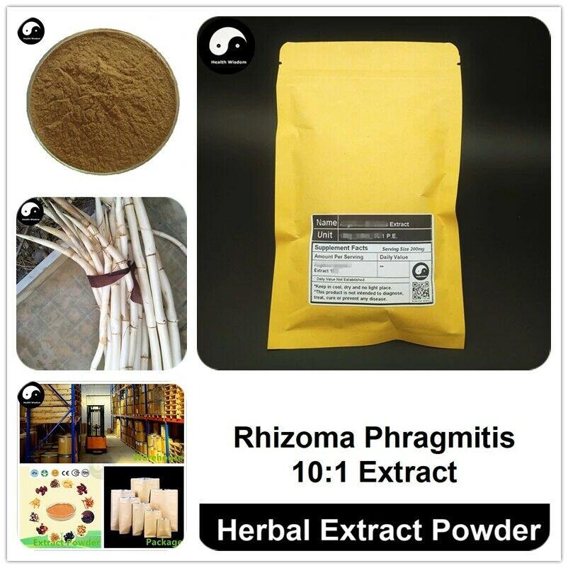 Rhizoma Phragmitis Extrakt Pulver, Gemeinsame Reed Rhizom P.E. 101, Lu Zhu Gen
