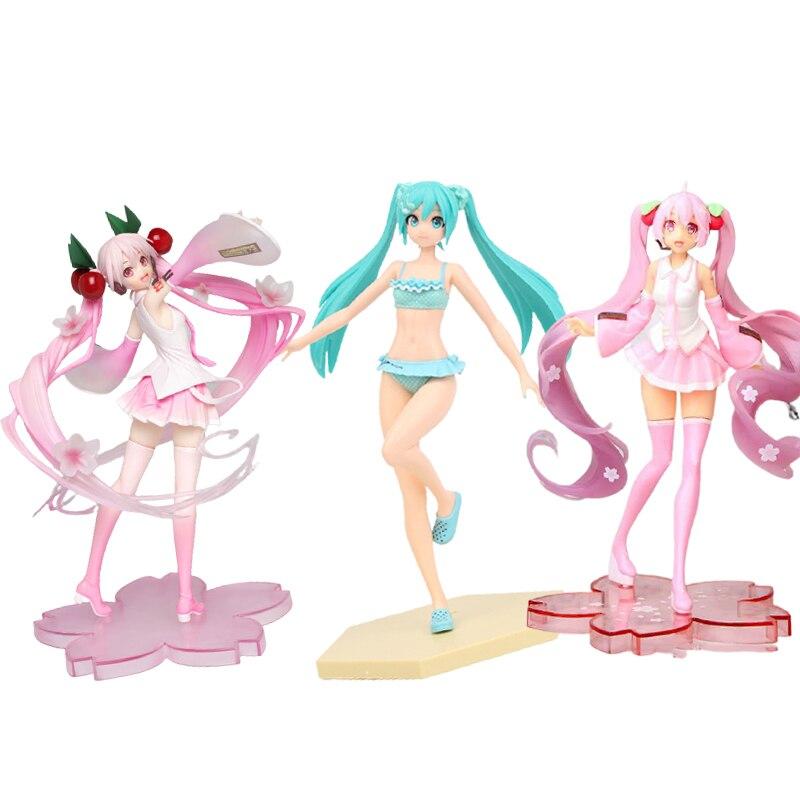 2021-23cm-hatsune-anime-figure-ornamenti-modello-bambole-anime-giapponesi-burattini-principessa-verde-film-e-tv-regali-prodotti-finiti