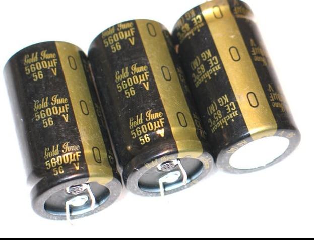 2pcs/10pcs 56V/5600UF 50v nichicon NICHICON KG TYPE-II (Gold Tune) electrolytic capacitor free shipping