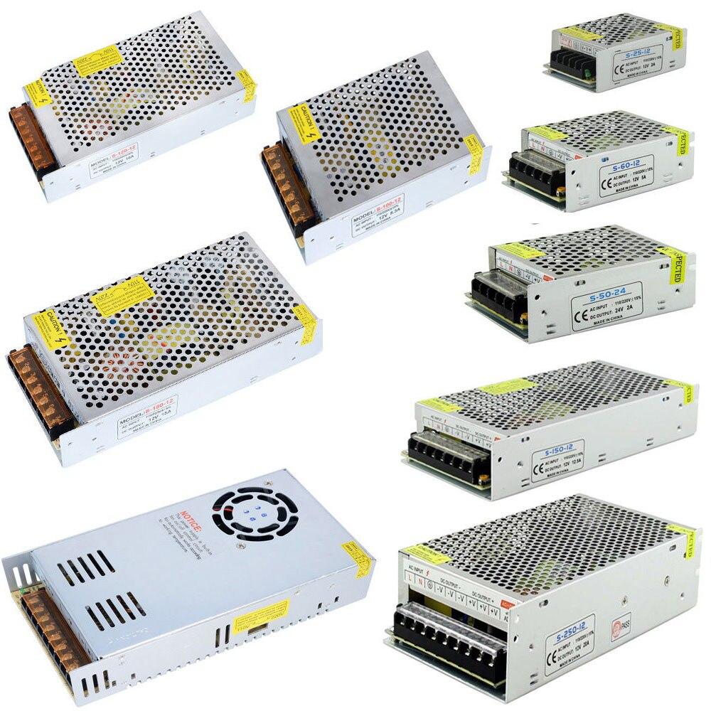 Transformadores de iluminación 18 V 2A 3A 5A 10A 20A fuente de alimentación 18 V potencia de voltaje adaptador de alimentación 220v a 12v controlador Led